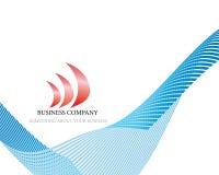 Het embleem van het bedrijf Royalty-vrije Stock Foto
