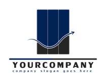 Het embleem van het bedrijf voor om het even welke het raadplegen zaken vector illustratie