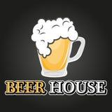 Het embleem van het bierhuis Royalty-vrije Stock Afbeelding