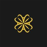 Het embleem van het codagelaboratorium Royalty-vrije Stock Foto's