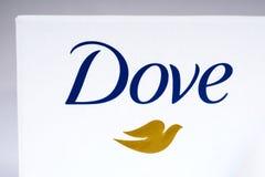 Het Embleem van het duifmerk Royalty-vrije Stock Fotografie