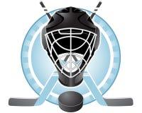 Het embleem van het hockey Stock Foto