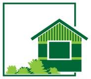 Het embleem van het huis royalty-vrije illustratie