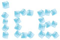 Het embleem van het ijs Royalty-vrije Stock Foto