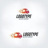 Het embleem van het leveringsbedrijf Royalty-vrije Stock Afbeeldingen