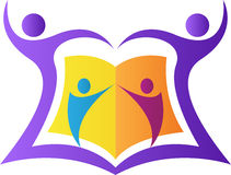 Het embleem van het onderwijs Royalty-vrije Illustratie