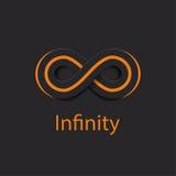 Het Embleem van het oneindigheidssymbool Vector illustratie vector illustratie