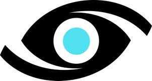 Het embleem van het oog Royalty-vrije Stock Foto's