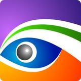 Het embleem van het oog Stock Foto's