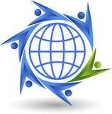 Het embleem van het wereldpaar Stock Foto's