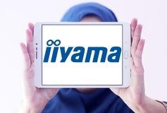 Het embleem van het Iiyamabedrijf Royalty-vrije Stock Foto