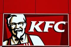 Het Embleem van Kfc Stock Foto