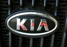 Het embleem van Kia Stock Afbeelding