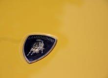 Het embleem van Lamborghini stock foto