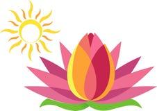 Het embleem van Lotus Royalty-vrije Stock Afbeelding