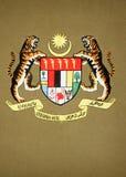 Het Embleem van Maleisië Stock Fotografie