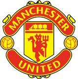 Het embleem van het Manchester Unitedpictogram royalty-vrije illustratie
