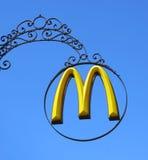 Het embleem van McDonald Stock Fotografie