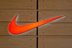 Het Embleem van Nike Stock Afbeelding
