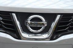 Het embleem van Nissan van DENMARK_Ashqai Royalty-vrije Stock Foto