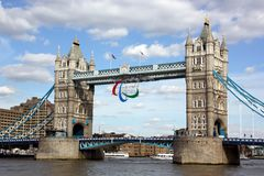 Het embleem van Paralympic Stock Foto