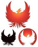 Het Embleem van Phoenix Stock Afbeelding