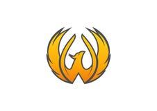 Het Embleem van Phoenix Royalty-vrije Stock Afbeelding