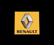Het embleem van Renault Stock Fotografie