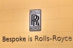 Het embleem van Rolls Royce Stock Foto's