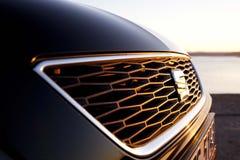 Het Embleem van Seat Leon MK3 Stock Afbeelding