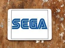Het embleem van Sega Stock Afbeeldingen