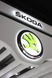 Het Embleem van Skoda Royalty-vrije Stock Fotografie