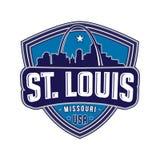 Het embleem van St.Louis Vector en illustratie vector illustratie