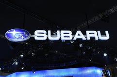 Het embleem van Subaru Stock Fotografie