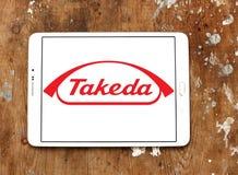 Het embleem van het Takeda Farmaceutische Bedrijf Royalty-vrije Stock Foto