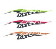 Het embleem van Tatoo Stock Afbeeldingen