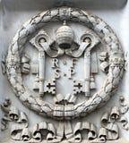 Het embleem van Vatikaan stock foto's
