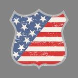 Het embleem van Verenigde Staten Stock Afbeeldingen