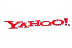 Het embleem van Yahoo Stock Foto's