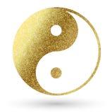 Het embleem van Yin yang Stock Foto