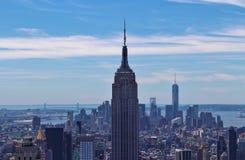 Het Empire State Building, New York stock foto