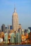 Het Empire State Building, schuine stand-verschuiving Royalty-vrije Stock Fotografie