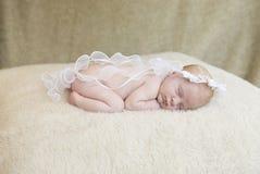 Het engelachtige Meisje van de Baby Stock Fotografie
