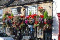 Het Engelen café, Witney, Oxfordshire, Engeland, het UK royalty-vrije stock foto's
