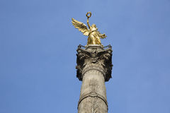 Het Engelenmonument aan Onafhankelijkheid in Mexico DF royalty-vrije stock foto
