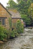 Het Engelse dorp van het land Royalty-vrije Stock Foto