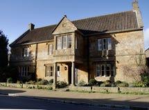 Het Engelse Huis van het Dorp stock afbeelding