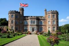 Het Engelse kasteel, zet Edgcumbe, Plymouth op Royalty-vrije Stock Fotografie