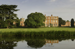 Het Engelse landgoed van het land Royalty-vrije Stock Foto's