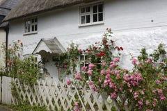 Het Engelse plattelandshuisje van het land. Avebury. Engeland Royalty-vrije Stock Foto
